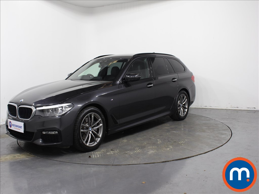 BMW 5 Series M Sport - Stock Number 1071207 Passenger side front corner