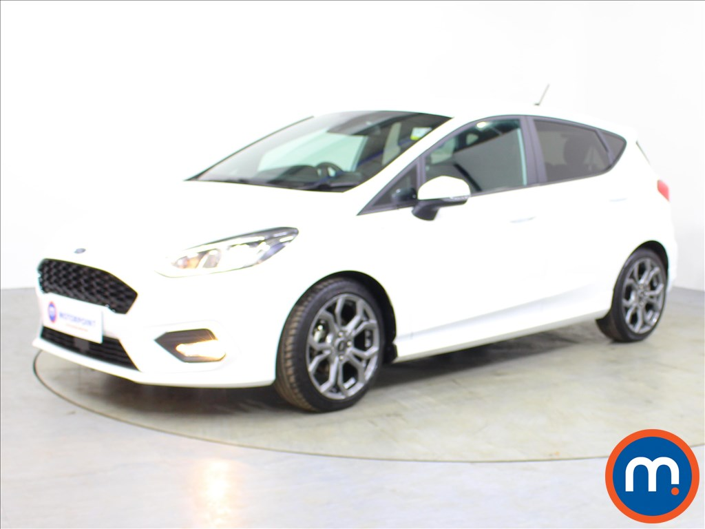 Ford Fiesta ST-Line - Stock Number 1067833 Passenger side front corner
