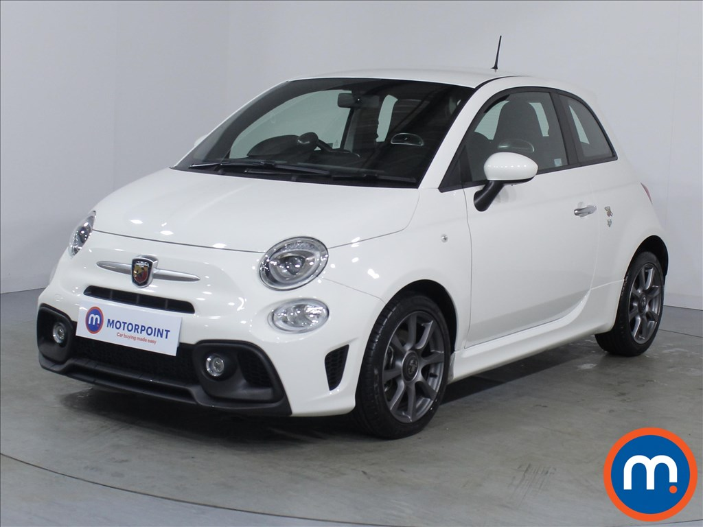 Abarth 595 1.4 T-Jet 145 3dr - Stock Number 1069363 Passenger side front corner