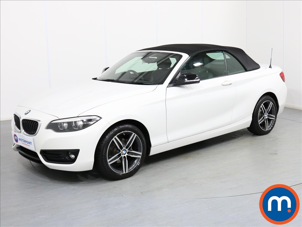 BMW 2 Series Sport - Stock Number 1072718 Passenger side front corner