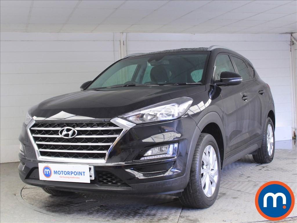 Hyundai Tucson SE Nav - Stock Number 1072307 Passenger side front corner