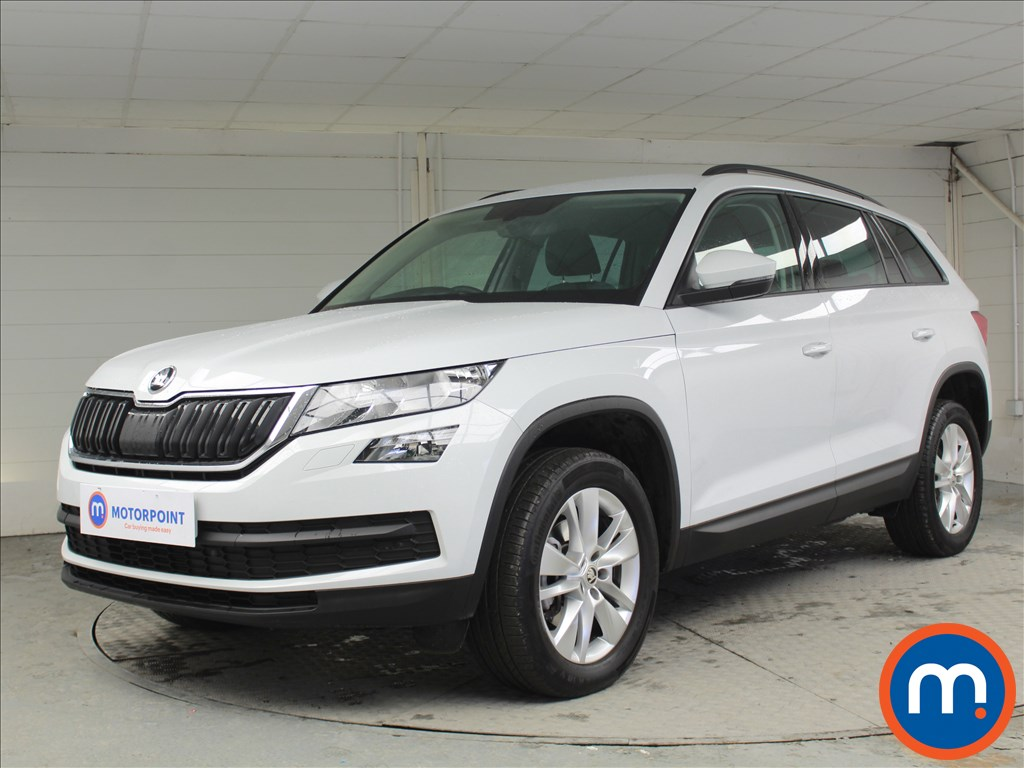 Skoda Kodiaq SE Technology - Stock Number 1069932 Passenger side front corner