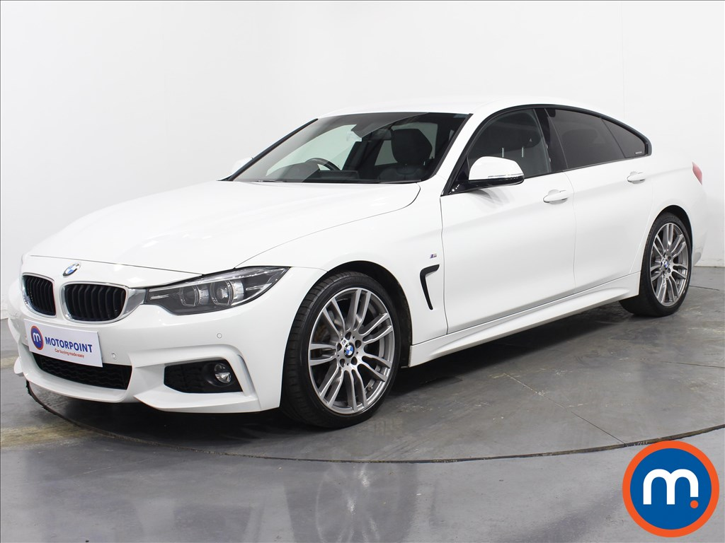 BMW 4 Series M Sport - Stock Number 1066580 Passenger side front corner