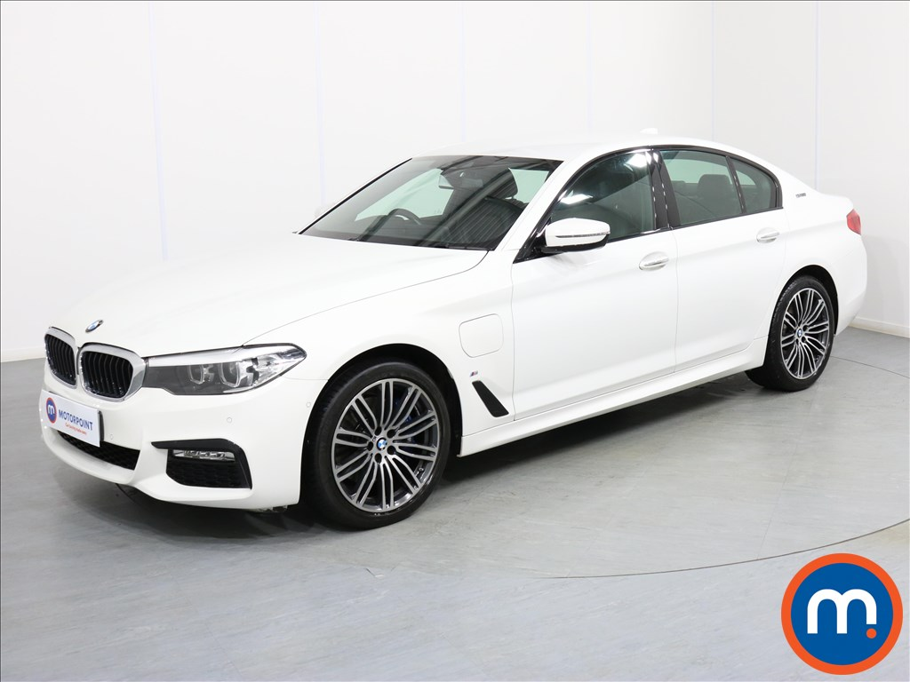 BMW 5 Series M Sport - Stock Number 1071233 Passenger side front corner