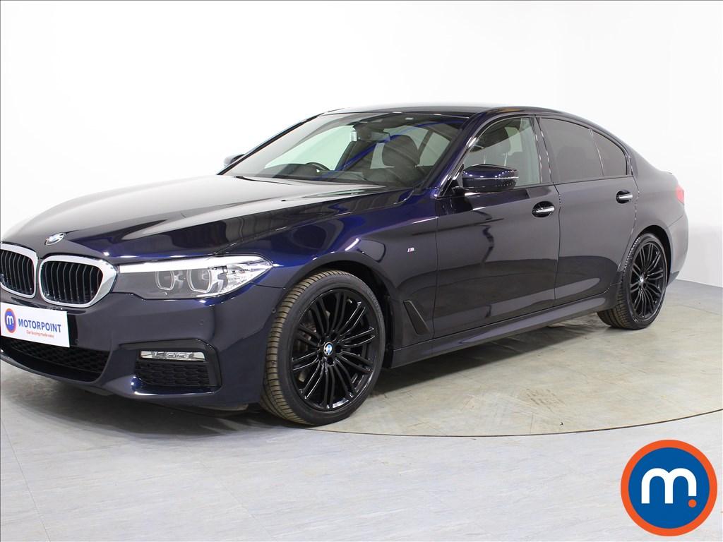 BMW 5 Series M Sport - Stock Number 1069977 Passenger side front corner
