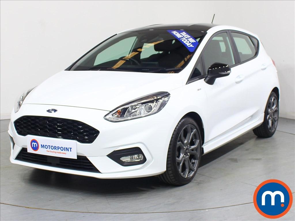 Ford Fiesta ST-Line - Stock Number 1065196 Passenger side front corner