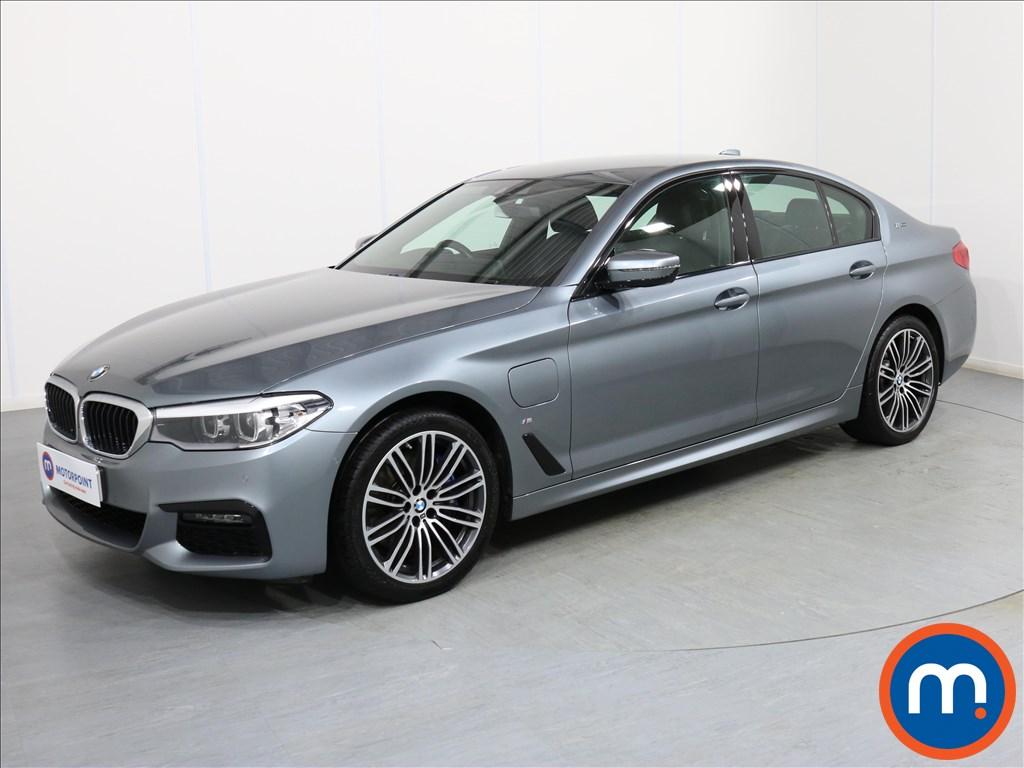 BMW 5 Series M Sport - Stock Number 1062442 Passenger side front corner