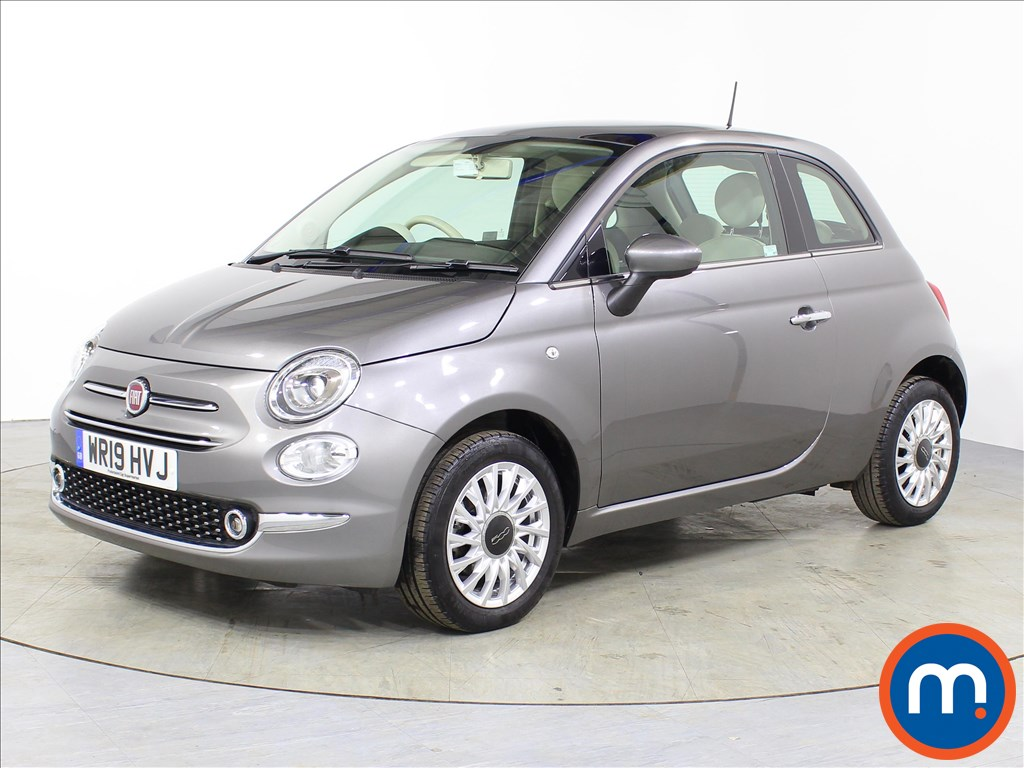 Fiat 500 Lounge - Stock Number 1066525 Passenger side front corner