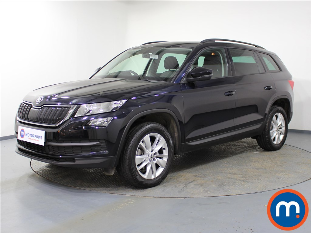 Skoda Kodiaq SE Technology - Stock Number 1069925 Passenger side front corner