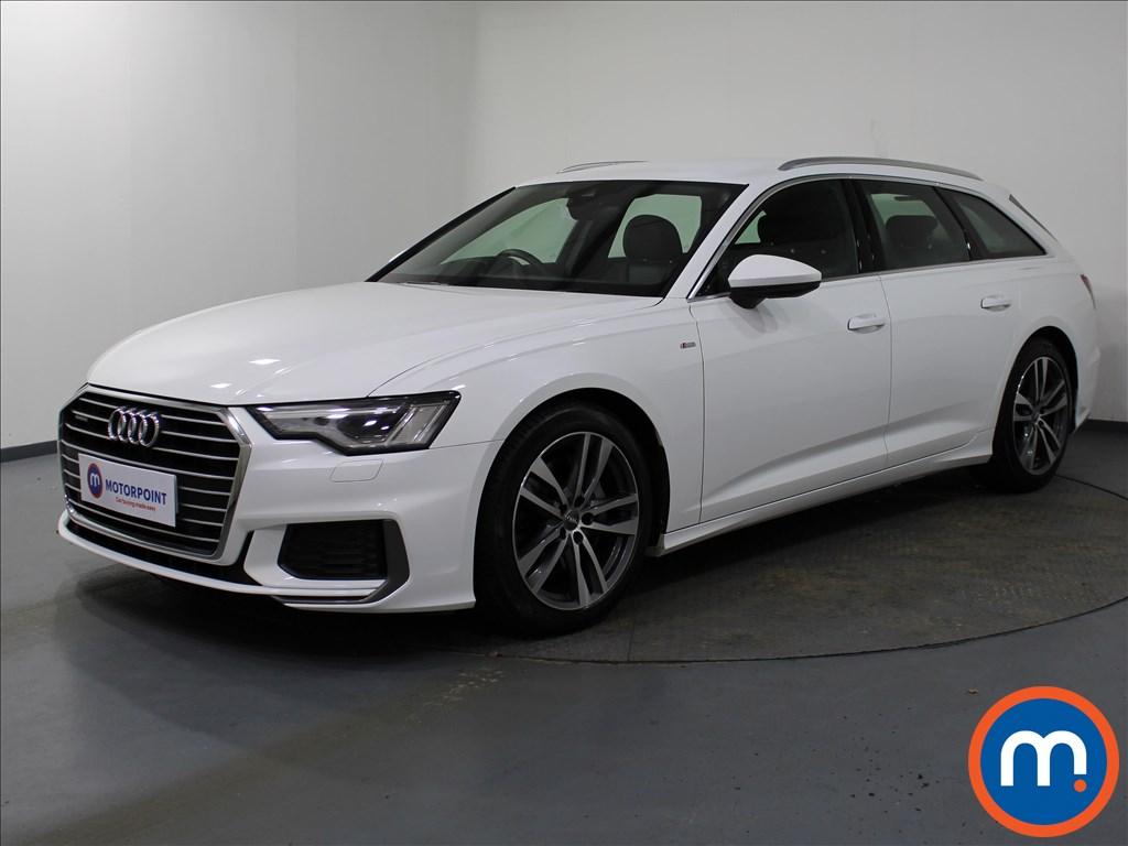 Audi A6 S Line - Stock Number 1073410 Passenger side front corner