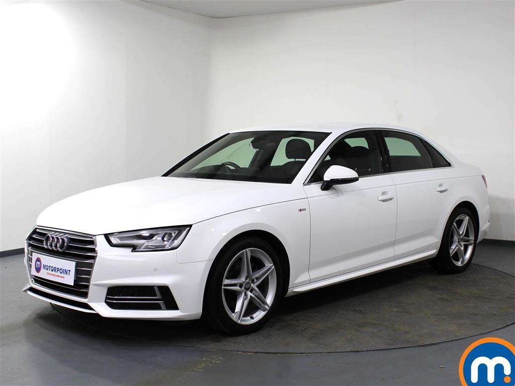 Audi A4 S Line - Stock Number 1071423 Passenger side front corner