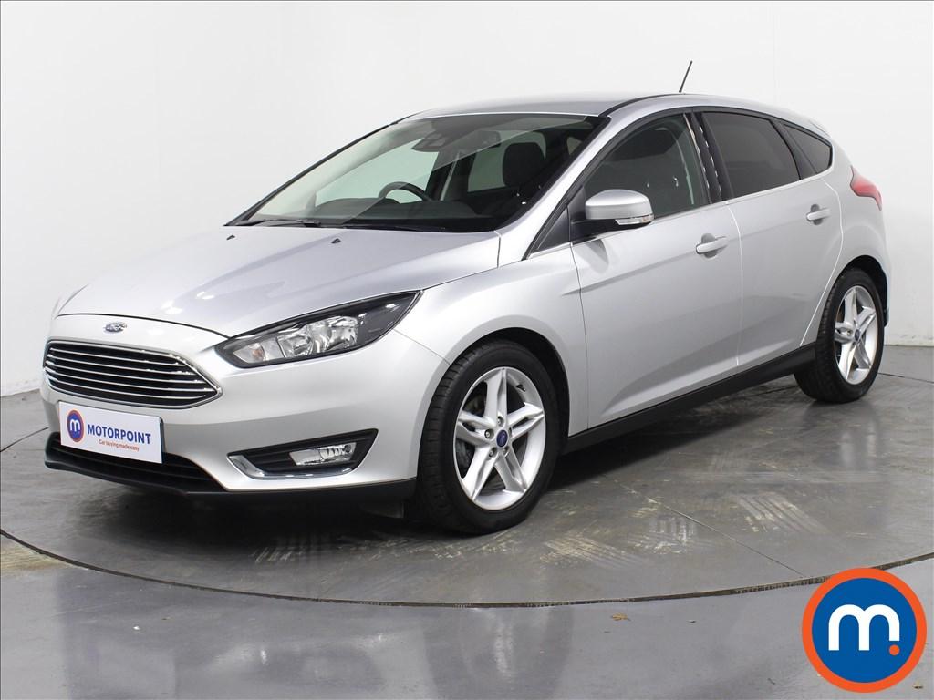 Ford Focus Titanium - Stock Number 1063716 Passenger side front corner
