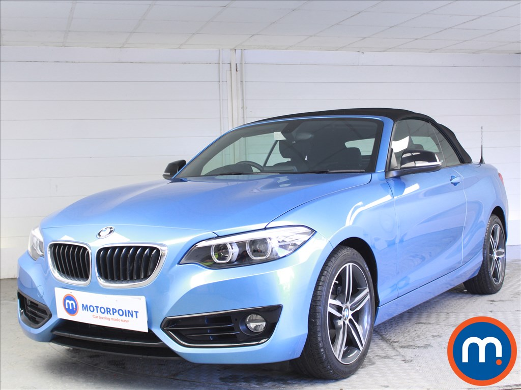 BMW 2 Series Sport - Stock Number 1073478 Passenger side front corner