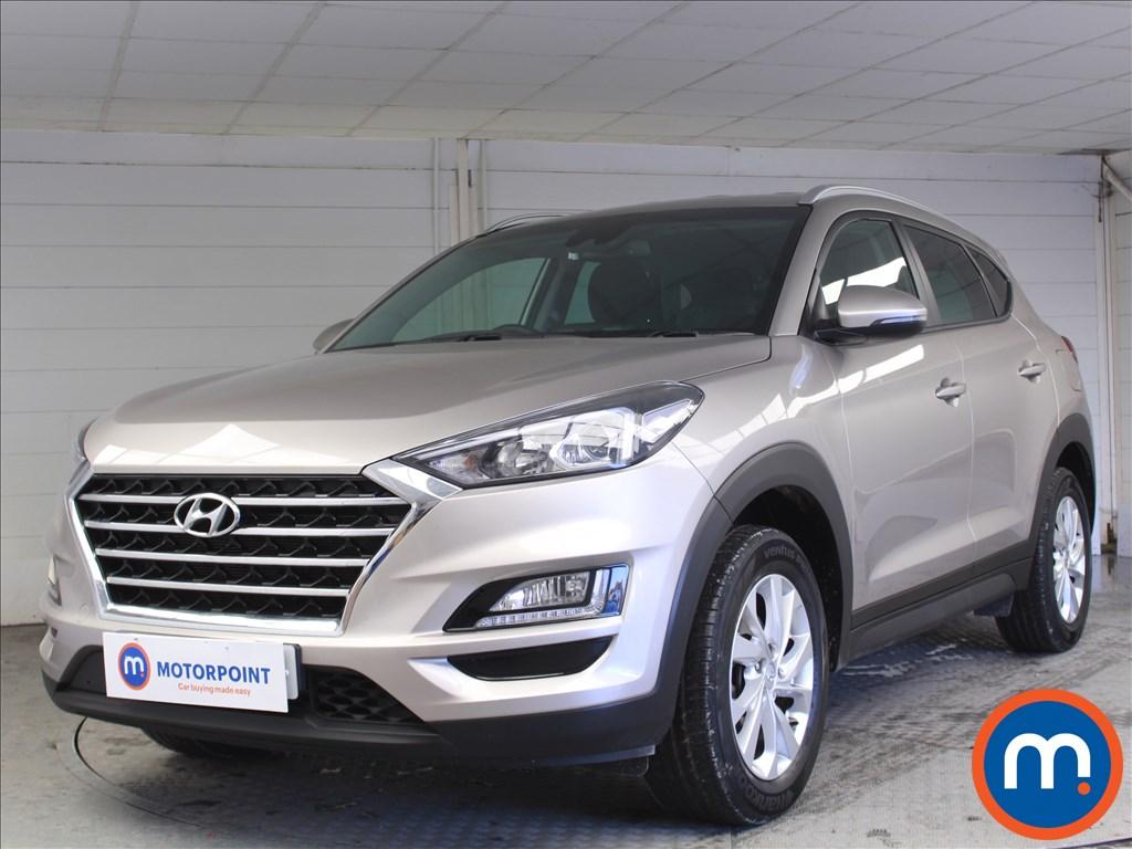Hyundai Tucson SE Nav - Stock Number 1070922 Passenger side front corner