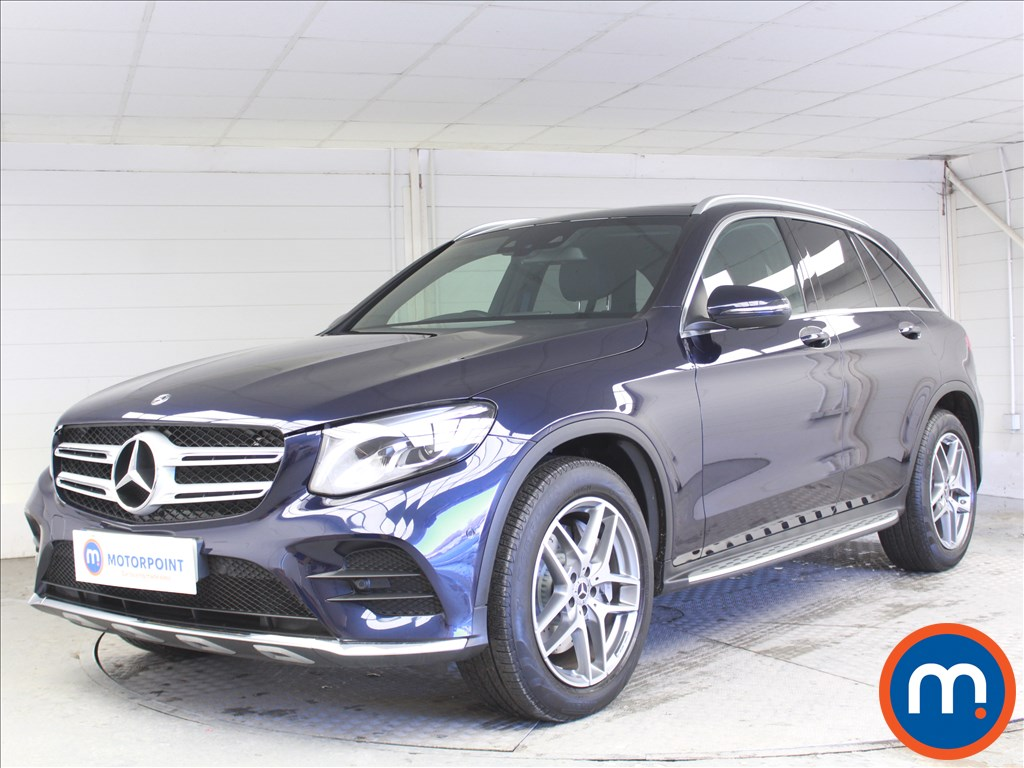 Mercedes-Benz GLC AMG Line - Stock Number 1072333 Passenger side front corner