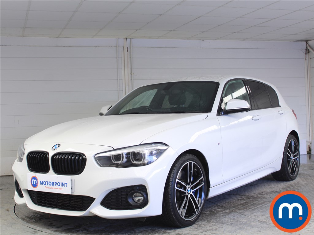 BMW 1 Series M Sport Shadow Edition - Stock Number 1073322 Passenger side front corner