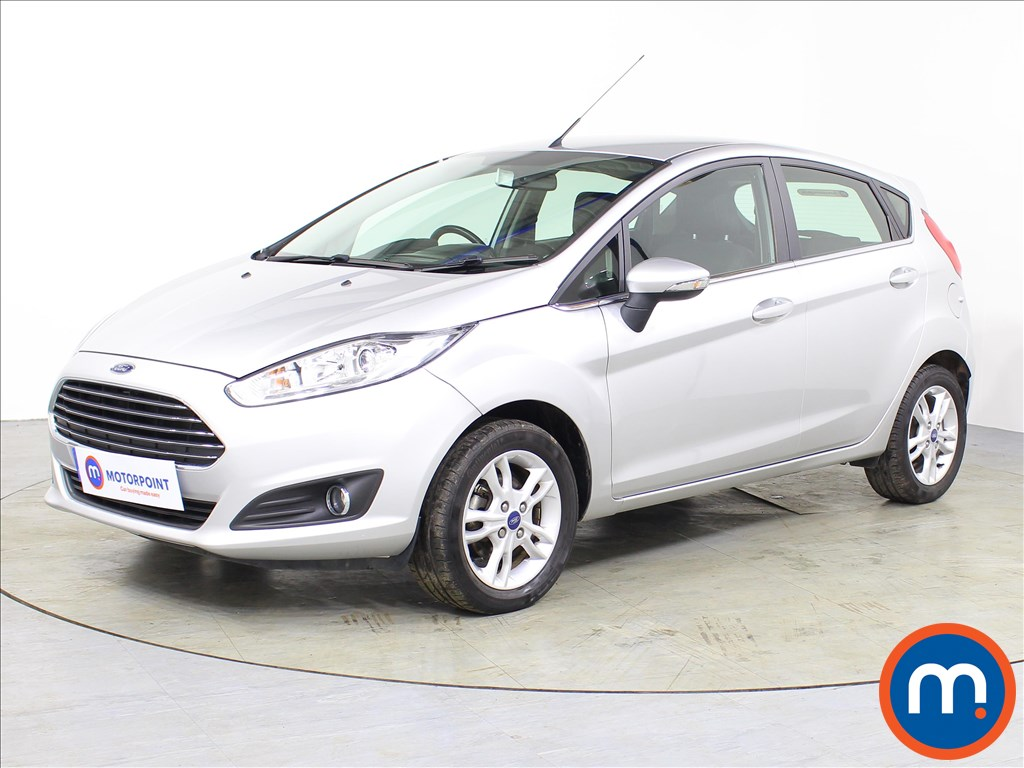 Ford Fiesta Zetec - Stock Number 1068013 Passenger side front corner
