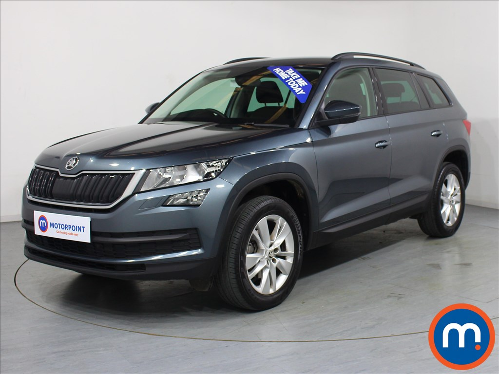 Skoda Kodiaq SE Technology - Stock Number 1071870 Passenger side front corner