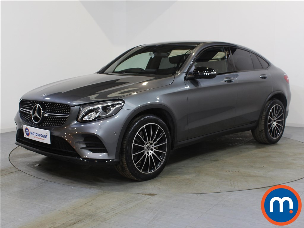 Mercedes-Benz Glc Coupe AMG Line - Stock Number 1072230 Passenger side front corner