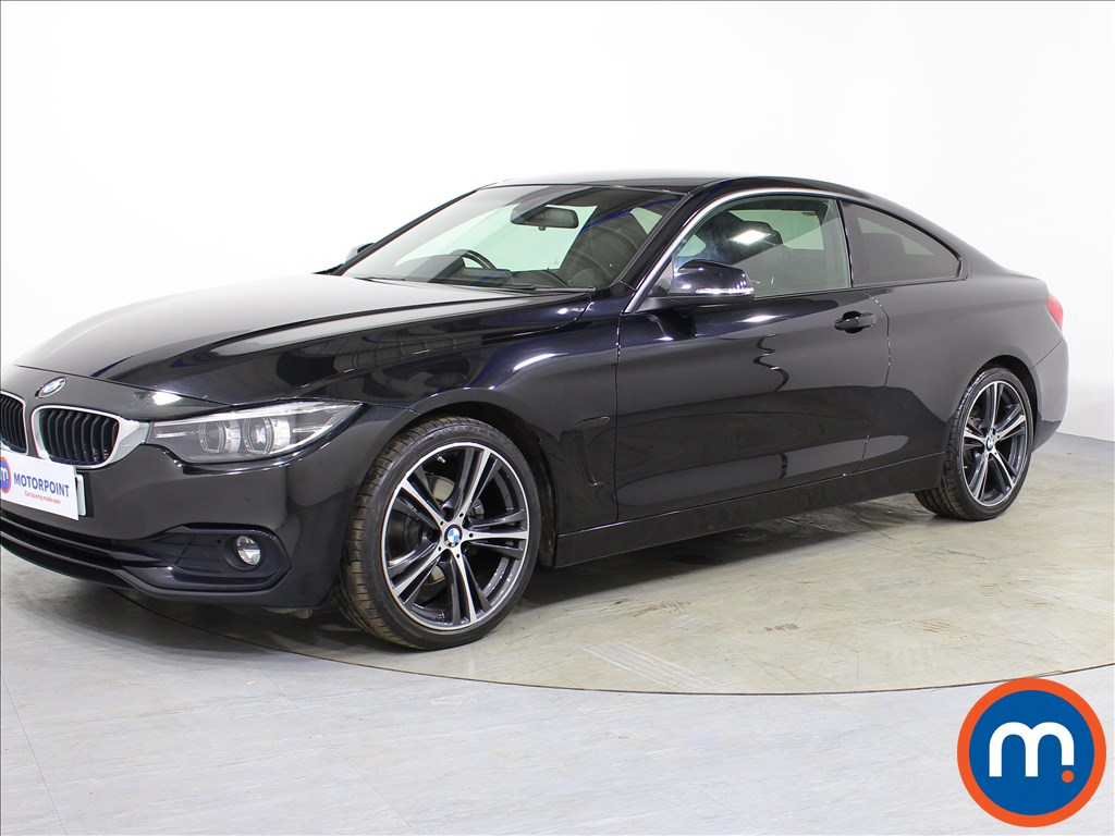 BMW 4 Series Sport - Stock Number 1072041 Passenger side front corner