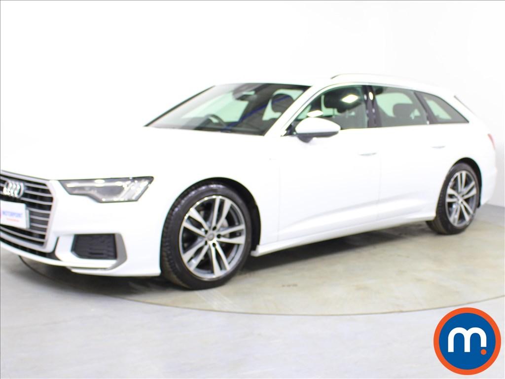 Audi A6 S Line - Stock Number 1073406 Passenger side front corner
