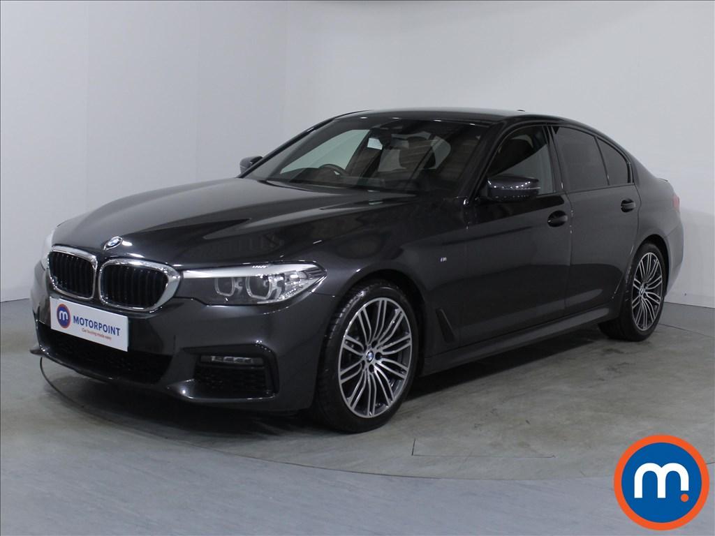 BMW 5 Series M Sport - Stock Number 1071528 Passenger side front corner