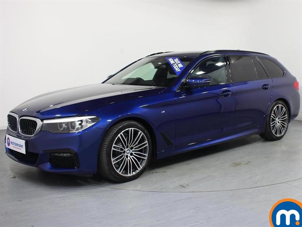 BMW 5 Series M Sport - Stock Number 1072207 Passenger side front corner