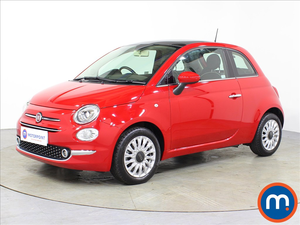 Fiat 500 Lounge - Stock Number 1071130 Passenger side front corner
