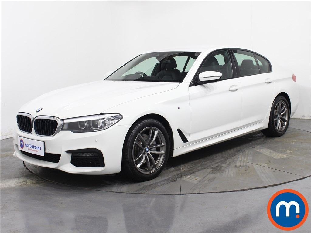 BMW 5 Series M Sport - Stock Number 1071044 Passenger side front corner