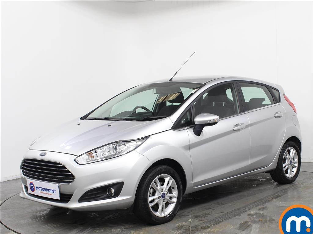Ford Fiesta Zetec - Stock Number 1073509 Passenger side front corner
