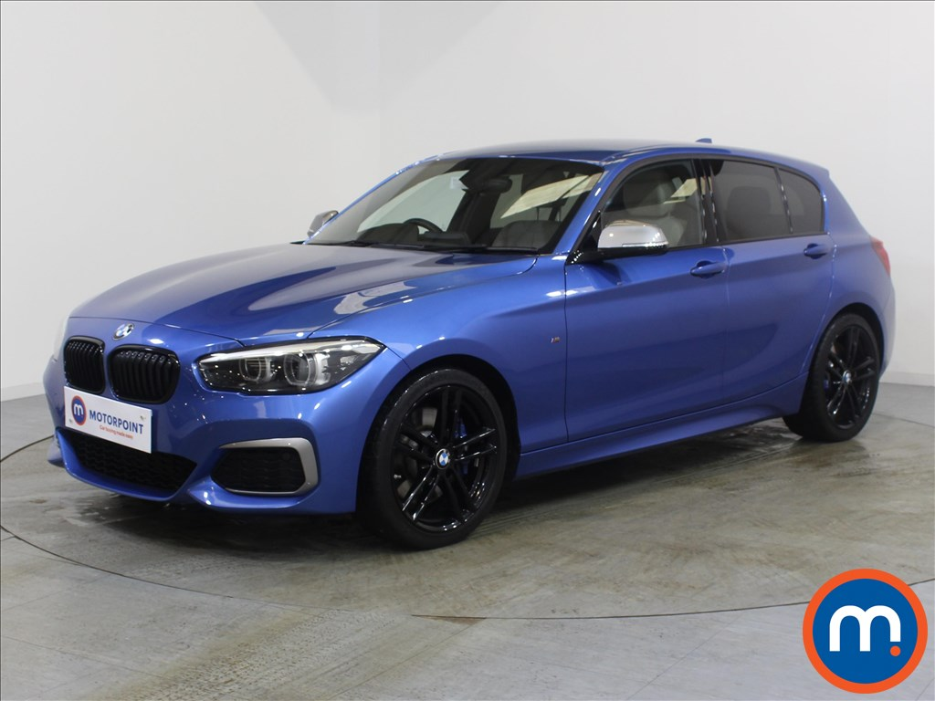 BMW 1 Series M140i Shadow Edition - Stock Number 1072940 Passenger side front corner