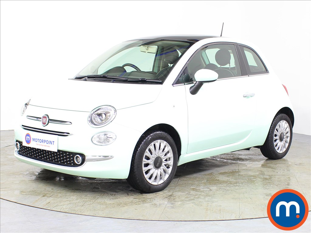 Fiat 500 Lounge - Stock Number 1074532 Passenger side front corner