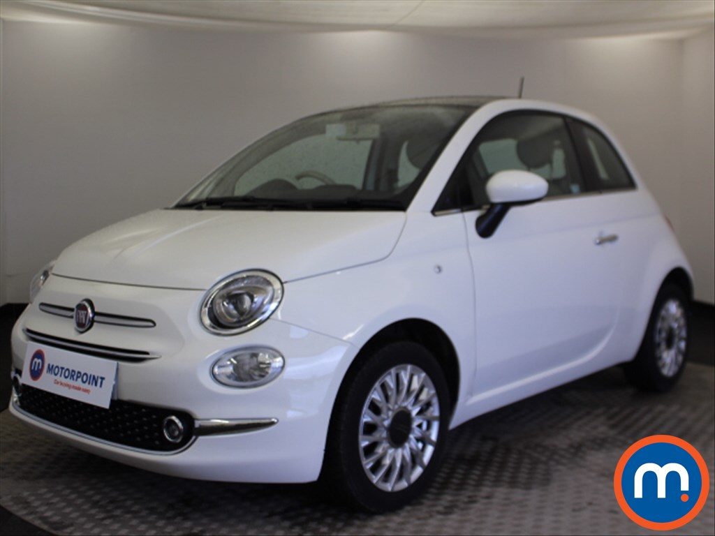 Fiat 500 Lounge - Stock Number 1074536 Passenger side front corner