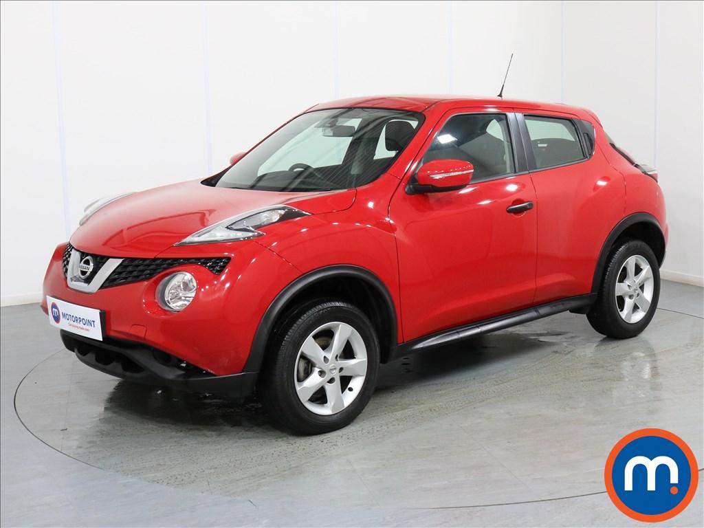 Nissan Juke Visia - Stock Number 1071503 Passenger side front corner