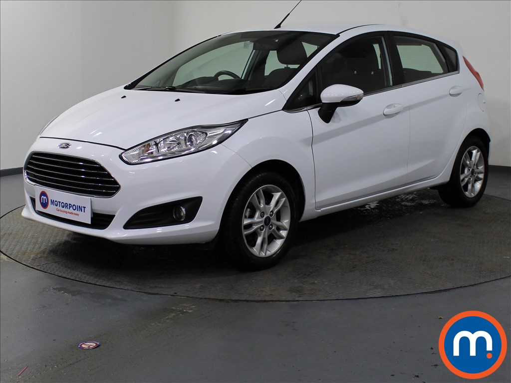 Ford Fiesta Zetec - Stock Number 1073517 Passenger side front corner