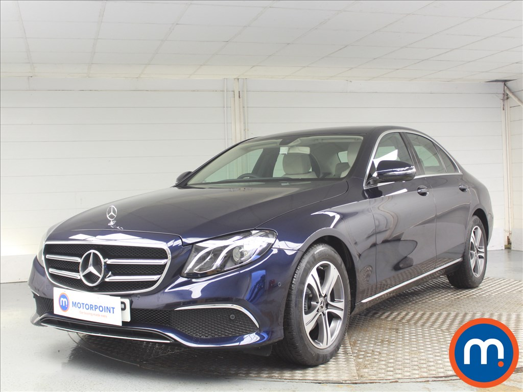 Mercedes-Benz E Class SE - Stock Number 1075050 Passenger side front corner