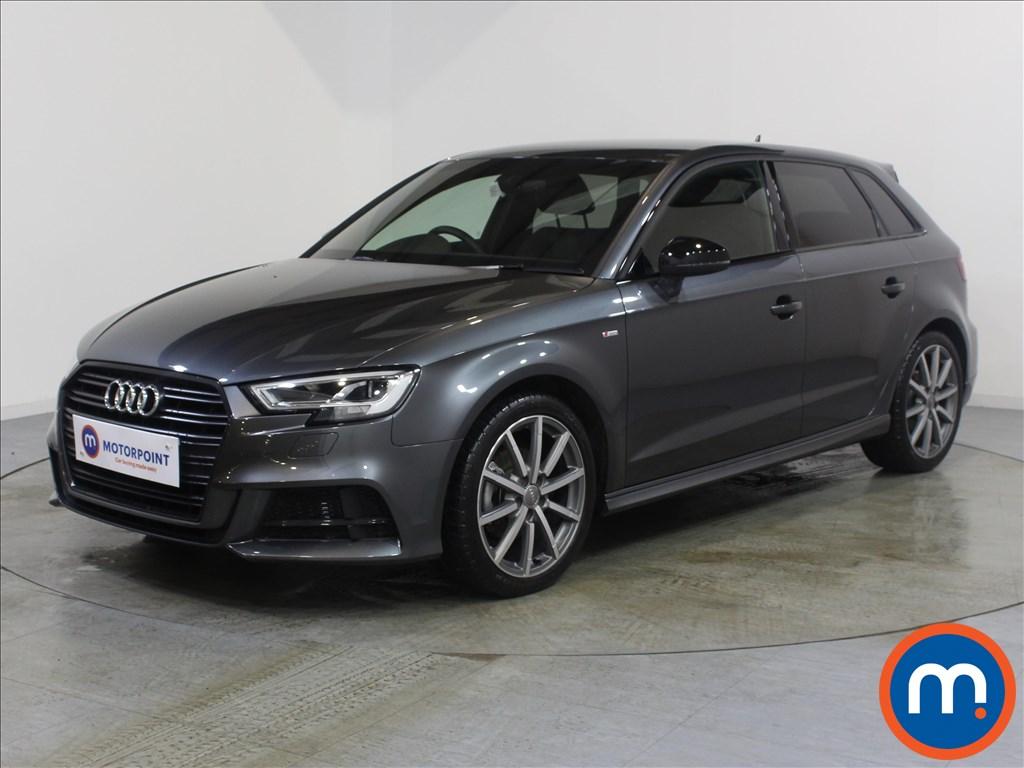 Audi A3 Black Edition - Stock Number 1071375 Passenger side front corner