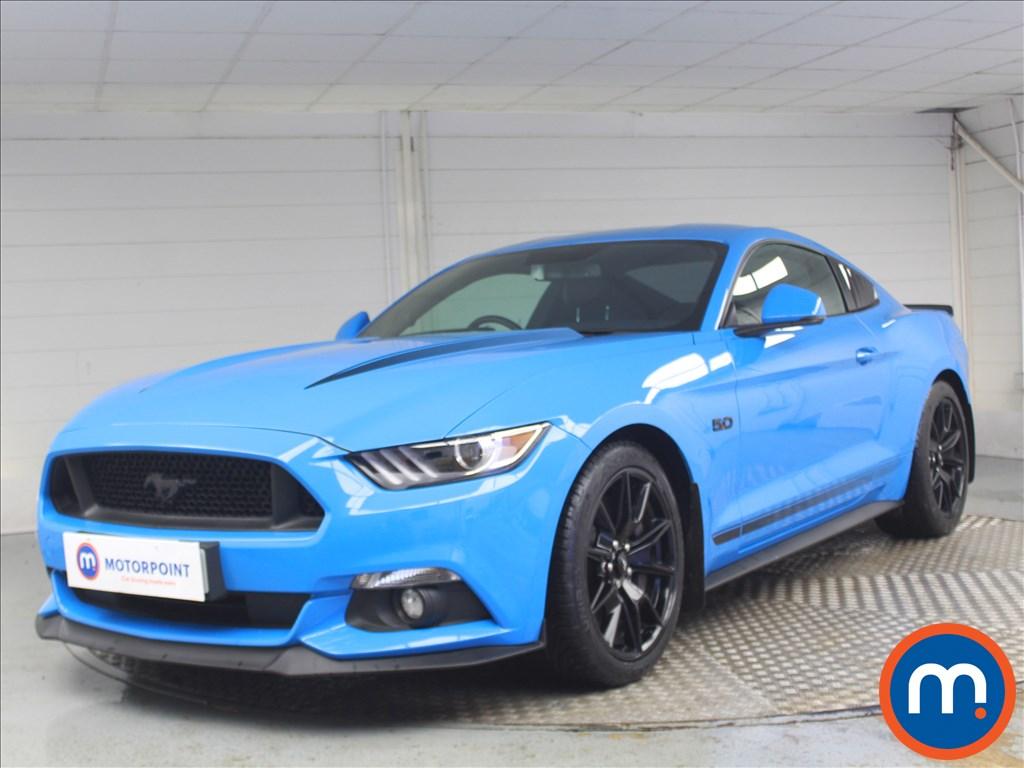 Ford Mustang GT - Stock Number 1075047 Passenger side front corner