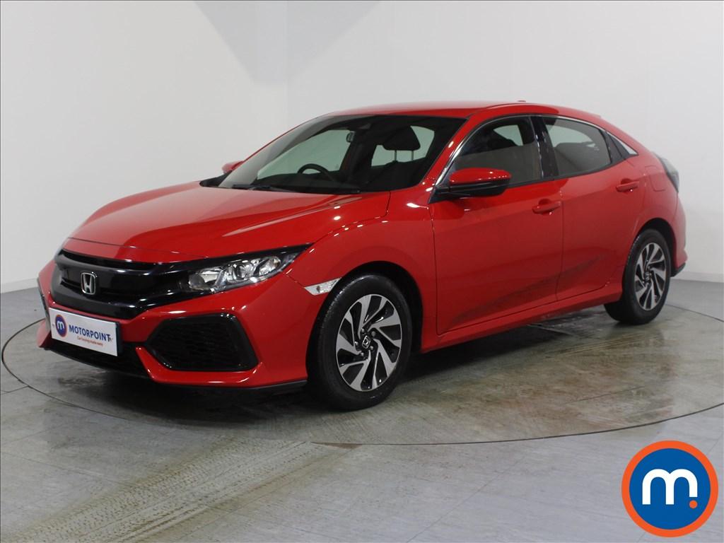 Honda Civic SE - Stock Number 1072347 Passenger side front corner