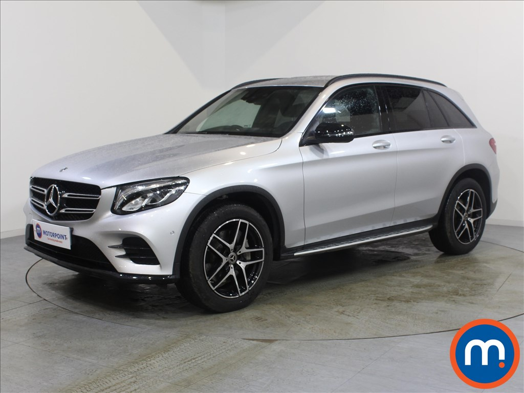 Mercedes-Benz GLC AMG Line - Stock Number 1072197 Passenger side front corner