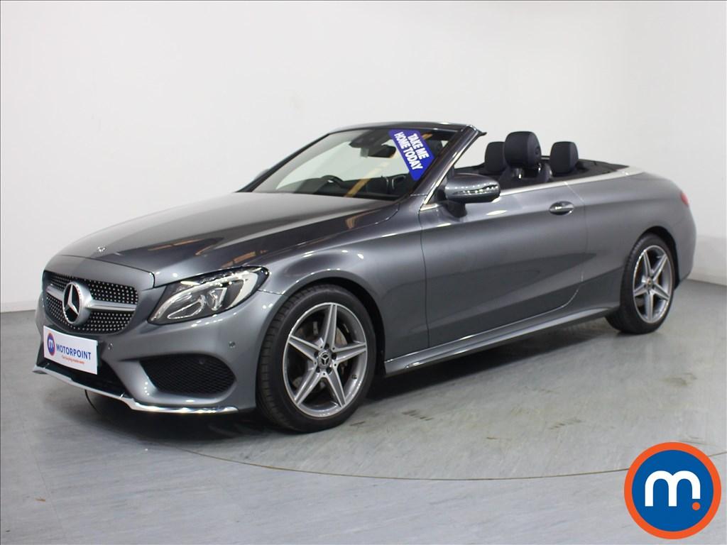 Mercedes-Benz C Class AMG Line - Stock Number 1071893 Passenger side front corner