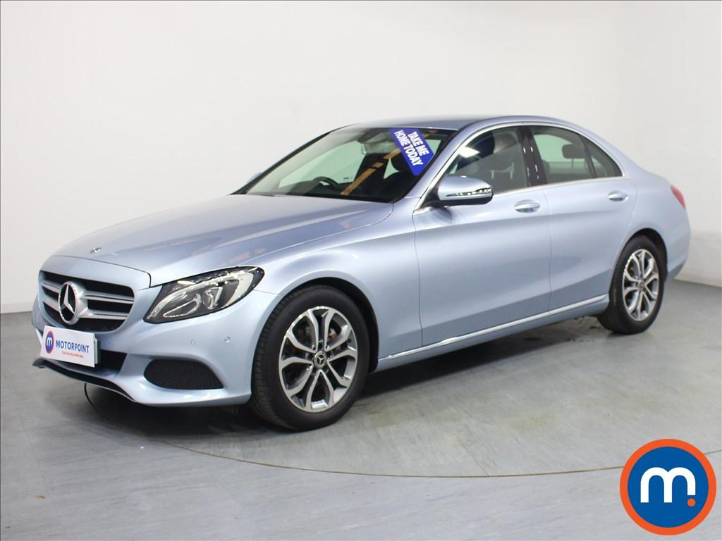 Mercedes-Benz C Class Sport - Stock Number 1072204 Passenger side front corner