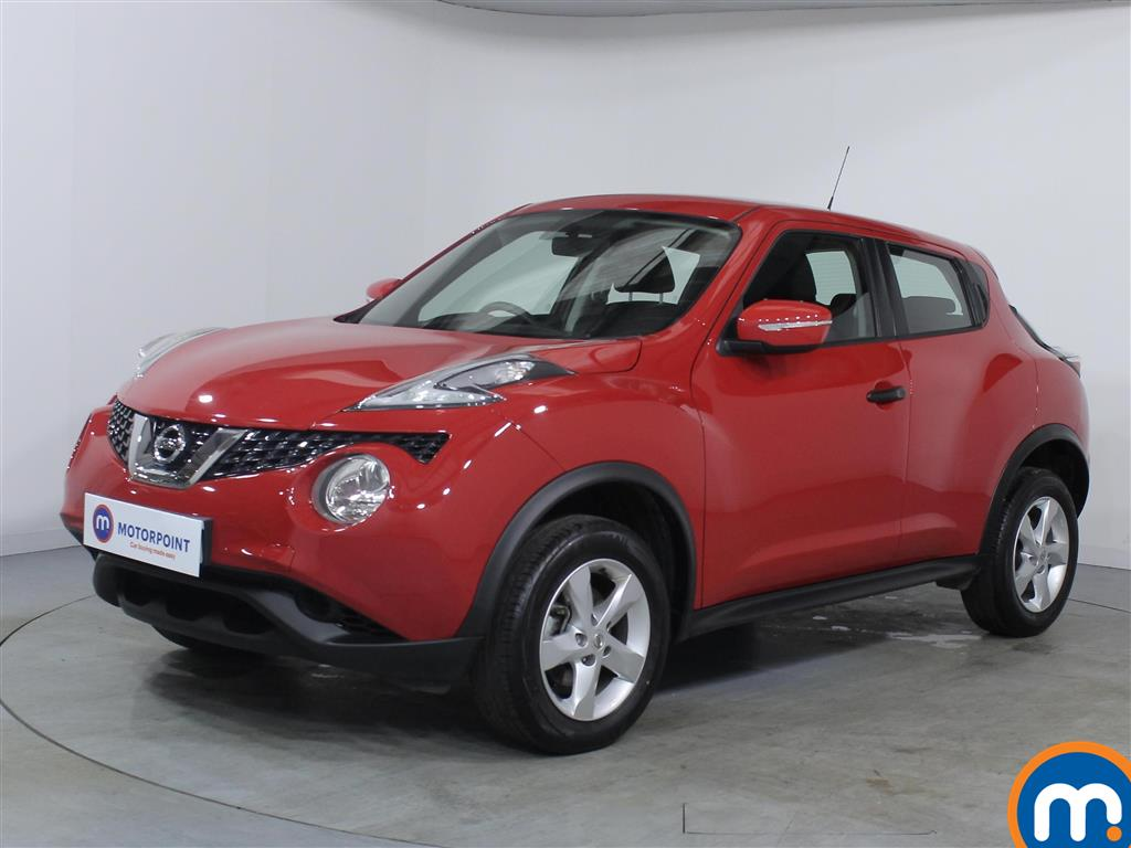 Nissan Juke Visia - Stock Number 1071518 Passenger side front corner