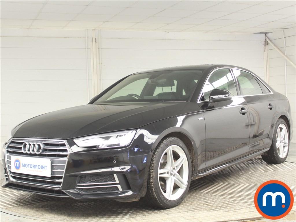 Audi A4 S Line - Stock Number 1072901 Passenger side front corner