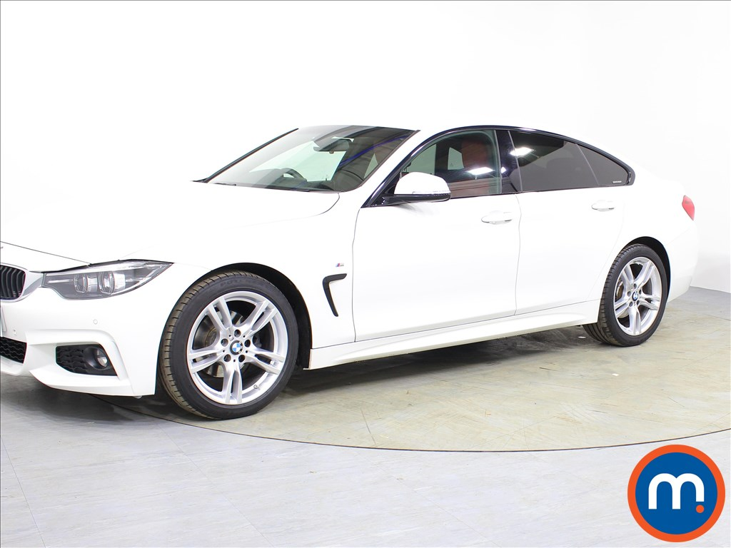 BMW 4 Series M Sport - Stock Number 1074405 Passenger side front corner