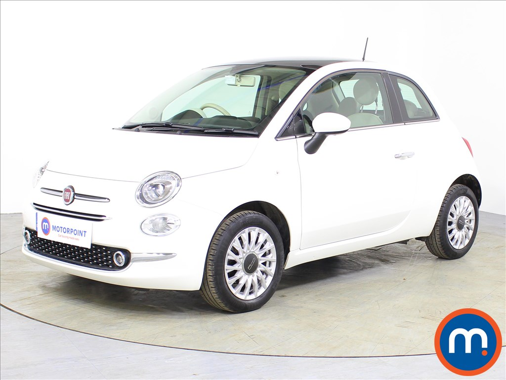 Fiat 500 Lounge - Stock Number 1074537 Passenger side front corner