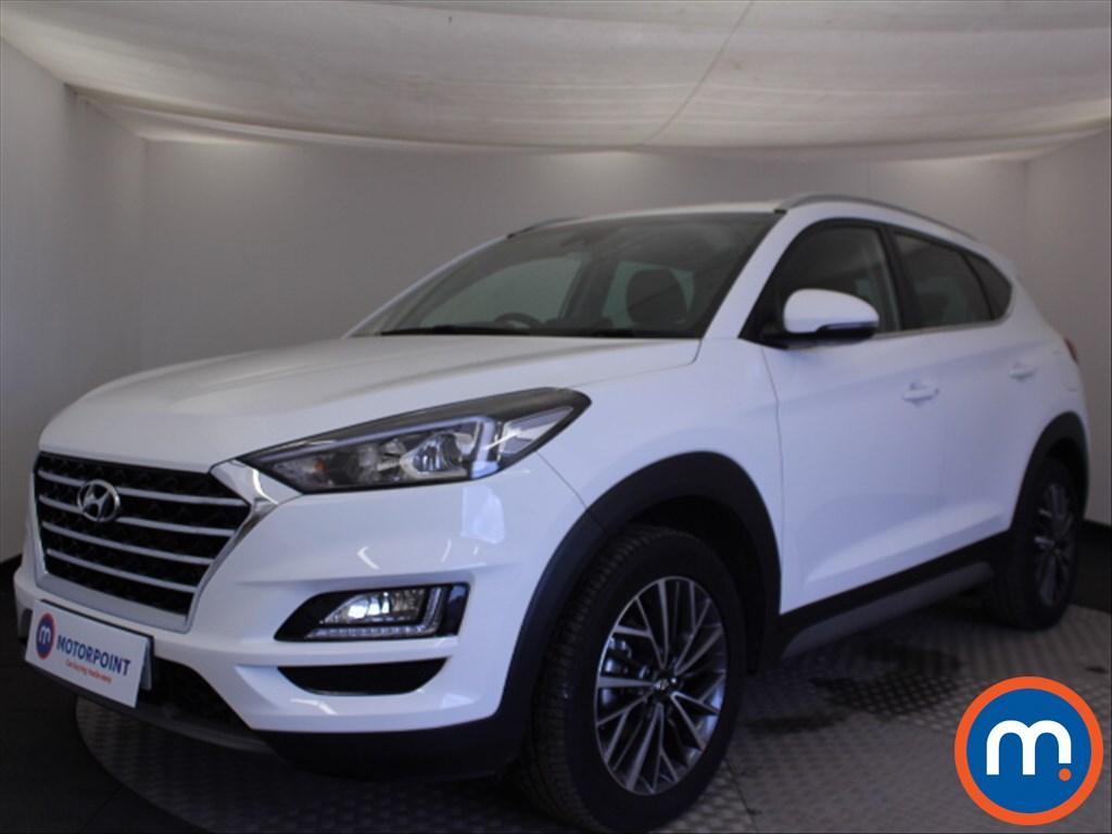 Hyundai Tucson Premium - Stock Number 1073640 Passenger side front corner
