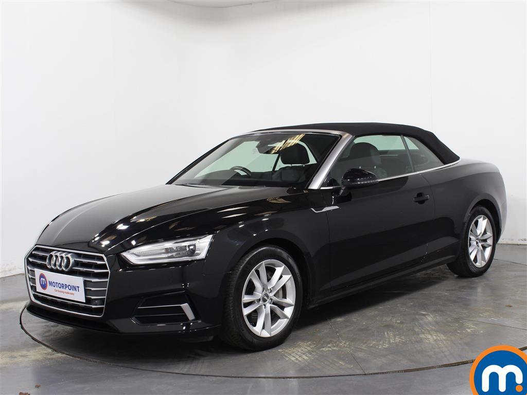 Audi A5 Sport - Stock Number 1071388 Passenger side front corner