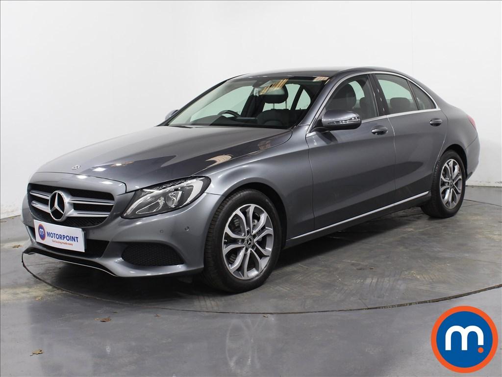 Mercedes-Benz C Class Sport - Stock Number 1068589 Passenger side front corner