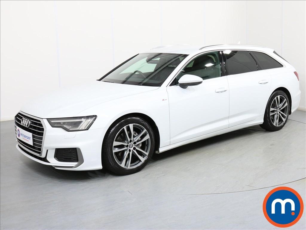 Audi A6 S Line - Stock Number 1073721 Passenger side front corner